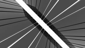 Futuristische Architektur Lizenzfreies Stockbild
