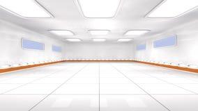 futuristische Architektur 3d Lizenzfreies Stockfoto