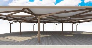 Organische struktur architektur des offenen raumes stockfotos bild 31038133 - Futuristische architektur ...