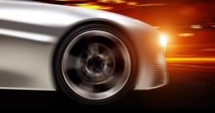 Futuristische Auto Royalty-vrije Stock Afbeeldingen