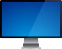 Futuristische Bildschirmanzeige. stock abbildung