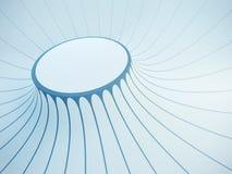 Futuristische binnenlandse ruimte Stock Foto's