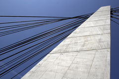 Futuristische Brücke Lizenzfreie Stockfotografie