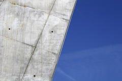 Futuristische brug Stock Afbeeldingen