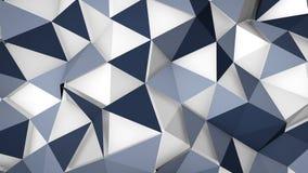 Futuristische de oppervlakteachtergrond van de technoveelhoek Stock Fotografie