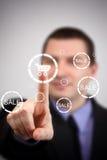 Futuristische digitale technologie vector illustratie