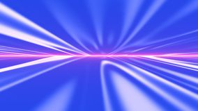 Futuristische Fluganimation, kann für Musikvideos, Nachtklubs, audio-visuelle Shows und Musikkonzerte verwendet werden vektor abbildung