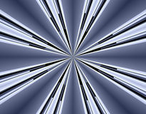 Futuristische fractal achtergrond Royalty-vrije Stock Foto's