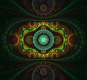 Futuristische fractal patronen royalty-vrije stock afbeeldingen
