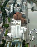 Futuristische gehry Gebäude Stockfotos