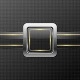 Futuristische Glasplatte Lizenzfreies Stockbild