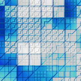 Futuristische glastextuur stock illustratie