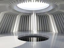 Futuristische Halle Stockbild