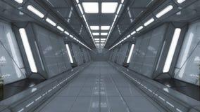 Futuristische Hallenarchitektur Stockbilder