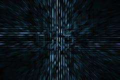 Futuristische HOOGTE - de achtergrond van technologie Stock Fotografie