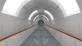 Futuristische Innenarchitektur Stockfoto