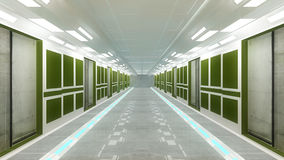 Futuristische Innenarchitektur Lizenzfreie Stockfotos