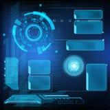 Futuristische interface HUD Royalty-vrije Stock Foto