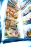 Futuristische koelkast Royalty-vrije Stock Afbeeldingen