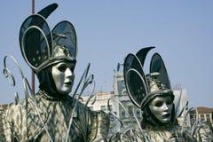 Futuristische kostuums Royalty-vrije Stock Fotografie