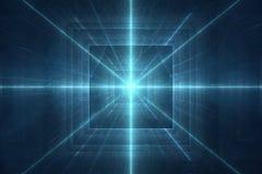Futuristische 3D abstracte achtergrond Stock Foto