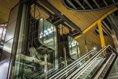 Futuristische liften Royalty-vrije Stock Fotografie