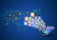 Futuristische Mobiele Telefoon Royalty-vrije Stock Fotografie