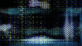 Futuristische Pixel 10483 van de het Schermvertoning Royalty-vrije Stock Foto