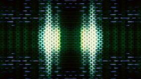 Futuristische Pixel 10489 van de het Schermvertoning Royalty-vrije Stock Afbeelding