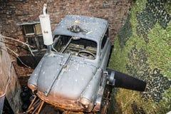 Futuristische retro auto Royalty-vrije Stock Foto