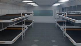 Futuristische ruimte Royalty-vrije Stock Foto's