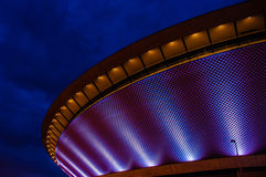 Futuristische sporthal Stock Foto's