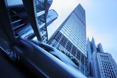 Futuristische stad Stock Fotografie