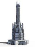 Futuristische stadsarchitectuur vector illustratie