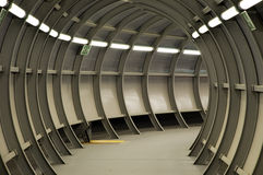 Futuristische tunnel Royalty-vrije Stock Afbeeldingen