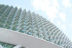 Futuristische und eindeutige Architektur Stockfotografie