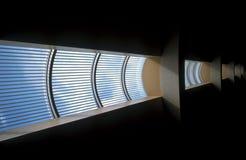 Futuristische vensters stock afbeeldingen
