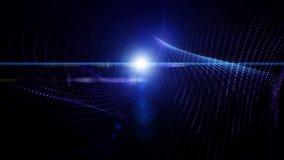Futuristische Videoanimation, Schleife HD 1080p lizenzfreie abbildung