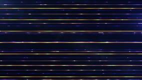 Futuristische zeldzame parallelle horizontale veelkleurige deeltjeslijnen a Royalty-vrije Stock Foto