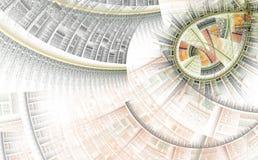Futuristischer abstrakter Hintergrund vektor abbildung