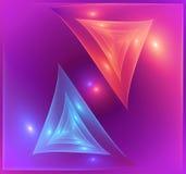 Futuristischer abstrakter Hintergrund lizenzfreie abbildung