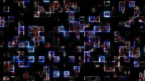 Futuristischer abstrakter Hintergrund Abbildung 3D stock abbildung