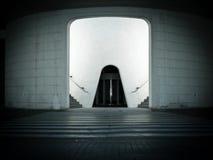 Futuristischer Eingang Lizenzfreies Stockfoto