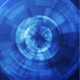 Futuristischer Formvektorhintergrund EPS10 Lizenzfreies Stockbild