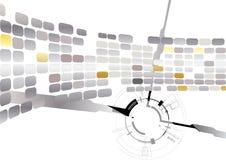Futuristischer Hintergrund Lizenzfreie Stockbilder