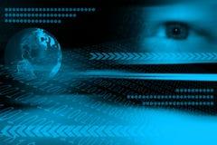 Futuristischer Hintergrund Lizenzfreies Stockfoto
