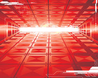 Futuristischer Hintergrund Stockfoto