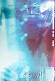 Futuristischer Hintergrund Stockbild
