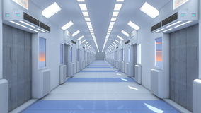 Futuristischer Hintergrund für Film Stockfoto