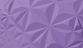Futuristischer Hintergrund mit Linien und abstrakter niedrig-Poly-, polygonaler dreieckiger Mosaikhintergrund für Netz, Darstellu Stockfotos
